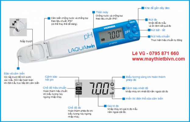 Bút đo pH trong ao nuôi