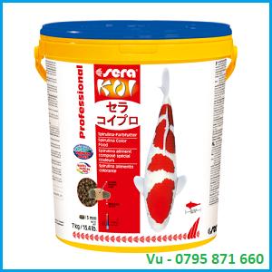 Thức ăn cho cá Koi Sera