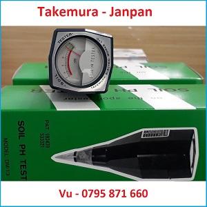 Bút đo pH đất Takemura Nhật Bản